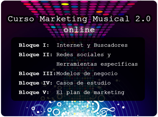 Curso marketing musical 2.0